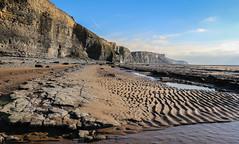 South Wales Coast (Andy.Gocher) Tags: andygocher canon100d 1855mm europe uk wales southwales dunravenbay southerndown treathmawr coast heritagecoast coastline water bluesky sand beach cliff