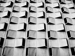 Complexities 190 Gent 002 DSC 2008 sw (SAPhD.com) Tags: 5sterne 70ies abstract abstrakt architect architecture architecturebrut artinbw bw blackwhite blackandwhite brut brutal brutalist building city closed complexities concrete construction digital dsc excerpt facade front garage gent ghent grey house lookingup massive minimalism monotone monotony parkinggarage pattern perspective quovadis raw rectangles repetition repetitive saphd seventies structure unnatural up upwardly upwards urban urbanabstract urbanexploration urbex