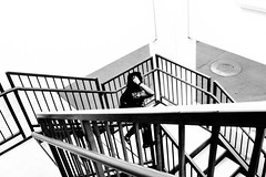 (Cate Snow) Tags: people staircase townsquare stairs outdoor