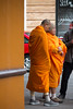 Saffron Monks (RaminN) Tags: monk orange color robes srilankan theravada saffroncolor spicecolored