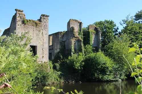 Le Château de LA DURBELIERE  St AUBIN de BAUBIGNE
