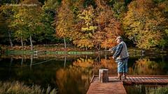 Backwoods... (moraypix) Tags: geddesloch trout backwoods fisherman casting reflections autumncolours nikond750 nikon2485lens moraypixphotography jimmacbeath