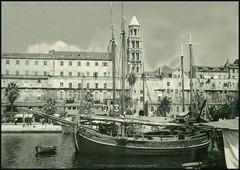 5214 R Split Croatia sent 10. VII. 1958. ship Dinka Knjiara Naprijed Split (Morton1905) Tags: 5214 r split croatia sent 10 vii 1958 ship dinka knjiara naprijed
