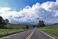 Sperryville Road (r.w.dawson) Tags: rappahannockcounty virginia va usa rural mountains view vista landscape fields road