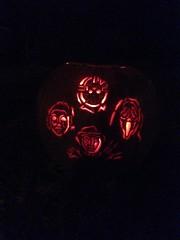 IMG_2697 (luckyme015) Tags: slashers pumpkin bohemian rhapsody jason voorhees friday 13th thirteenth ghostface scream freddy krueger nightmare elm street michael myers halloween 2016