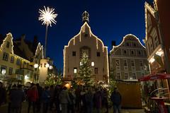 Abensberg (berndkru) Tags: canonef24mmf14liiusm canoneos6d abensberg christmas weihnachten blue blau architektur architecture