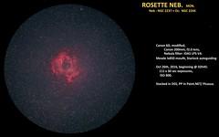 ROSETTE 26 OKT 2015 CANON 200MM (AstroSocSA) Tags: nebula supernovaremnant