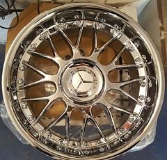 """Keskin KT-4 chrome 18"""" 9,5"""" Mercedes AMG wheels (essirs) Tags: chrom amg brakes keskin kt4 mercedes r129 w124 w140 brabus lorinser carlsson r170 r171 w210 w202 w222 w221 w211 w212 r172 r230 r231"""