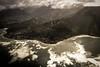 Copy of Kauai b&w18 (chiarina2016) Tags: kauai hawaii island beach monotone blackandwhite chiarinaloggia stormyseas waves trails hiking surf napali napalicoast helicopterride