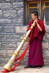 Tibet (kizeme) Tags: asia tibet sakya monastero monaco