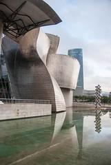 Bilbao (Espagne) (PierreG_09) Tags: espagne paysbasque guipuzcoa vizcaya ville village eu bilbao bilbo musée architecture muséeguggenheim guggenheim