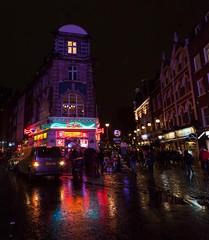 Active London (miroto2014) Tags: oldcomptonstreet soho sohostreet london londonstreetphotography streetphotography londonatnight nightphotography wetpavement