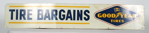 Goodyear Tires Sign ($291.20)