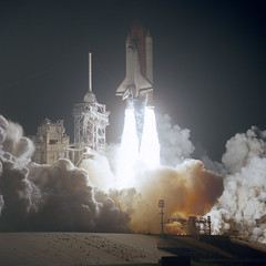 STS-61 (NASA on The Commons) Tags: endeavour spaceshuttle shuttle launch kennedyspacecenter