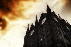 Doom (Rainer Schund) Tags: doom dom stralsund ostsee baltic see church kirche sunset sunshine darkness dark color colours doomsday untergang
