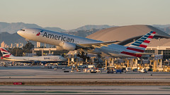 N777AN   Boeing 777-200ER   American Airlines   Los Angeles International (LAX)   November 2016 (FJ Aviation Photography) Tags: avgeek airliner aeroplane aircraft airplane aviation autumn boeing boeing777 b777 n777an americanairlines losangeles lax klax imperialhill november november2016 planespotting plane spotting