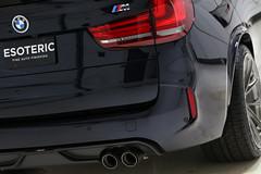 BMW F85 X5M Carbon Black 2 (Esoteric Auto Detail) Tags: bmw x5m carbon black esoteric edition hre akrapovic kw coilover dinan kamikaze enrei miyabi suntek detail detailing f85