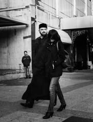 Religion steals your face (Mirslav Hristff) Tags: street streetphotography blackwhite bulgaria bw blackandwhite priest pope people onthestreet sony 35mm slt plovdiv urban urbanlife