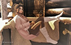 Cold  (::itgirl.fashionsecondlife::) Tags: izzies gizza barberyumyum bueno omen tram kustom9 catwa maitreya letre
