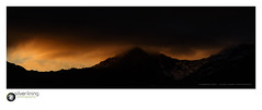 slp16-4752 (andypage7) Tags: northwales snowdonia wales mountain ridge ridgeline crest sundown sunset panorama vista moody mountainridge snowdon yrwyddfa