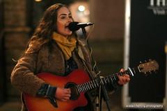 4-IMG_9576 Natasha (marinbiker 1961) Tags: natasha singer guitar female girl scarf outdoors glasgow princessstreetedinburgh people musician performer love