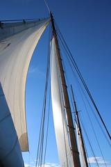 Upright (Jensje) Tags: netherlands klipperrace 2016 clipper race sailing ijsselmeer wind white light segeln