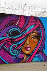 Welling Court Mural Project - Astoria, Queens, NYC (SomePhotosTakenByMe) Tags: woman frau wall mauer usa urlaub vacation holiday nyc newyork newyorkcity america amerika queens astoria mural wandbild kunst art graffiti wellingcourt wellingcourtmuralproject muralproject outdoor toofly mariacastillo castillo