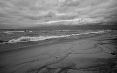 Storm to the North (mswan777) Tags: storm wind waves autumn weather lake michigan shore seascape great lakes nikon d5100 sigma 1020mm beach