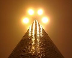 Latarnia (maciey24) Tags: latarnia mgła ulica oświetlenie streetlamp light streetlight street town fog wieczór evening night urban
