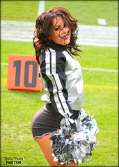 2016 Oakland Raiderette Anabelle (billypoonphotos) Tags: 2016 oakland raiders raiderette raiderettes raider nation raidernation anabelle nfl football fabulous females cheerleaders cheerleading dance dancer nikon d5200 billypoon billypoonphotos silver black picture photo photographer photography pretty girl lady woman squad team people coliseum carolina panthers
