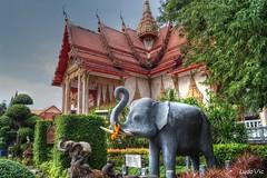 Wat Chalong Temple, Phuket, Thailande (Ld\/) Tags: watchalong temple buddha phuket patong thailande thailand elephant boudhisme