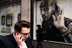 (samrodgers2) Tags: londonstreetphotography london oxfordcircus phone mobile mofarah