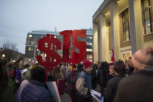 Rally demanding $15/hr minimum wage, From FlickrPhotos