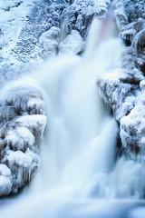 Ice ice baby (Olli Tasso) Tags: waterfall vesiputous juveninkoski suomifinland ice snow water longexposure blue winter nature outdoor landscape scenery maisema vesi lumi talvi december joulukuu jämsä pitkävalotus jää