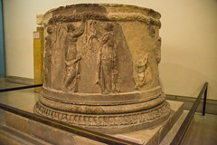 Delphi Archaeological Museum - Circular Altar (Le Monde1) Tags: greece greek archaeological museum ancient roman ruins excavation delphi apollo gods circular altar unesco worldheritagesite
