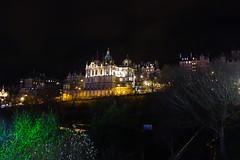 Bank of Scotland (*Tom68*) Tags: scotland schottland greatbritan grosbritannien unitedkingdom uk edinburgh outdoor nightpicture nachtaufnahme building