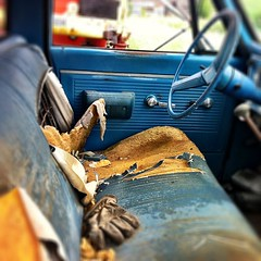 Hop in and have a seat! #farm #truck #sweetride #canada (Brent Purves) Tags: square squareformat iphoneography instagramapp uploaded:by=instagram