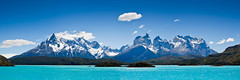 FCR-306928 (SalvadoriArte) Tags: chile patagonia mountain lake water america daylight day nobody unescoworldheritage messina purity sime torresdelpainenationalpark beautyinnature magallanesyantarticachilena horizontalpanoramic landscapescenics outdoorexterior latinamericasouthamerica