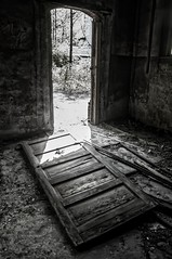 The door Is Open... (Peeping Dragon Photography) Tags: door house west building abandoned rural virginia nikon bath mine decay entrance structure wv tams d300s