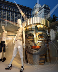 Macy's American Icons Levi's Window Display, Herald Square, New York City (jag9889) Tags: city nyc ny newyork window fashion advertising store display manhattan replica midtown borough macys statueofliberty levis department heraldsquare garmentdistrict campain 34street americanicons 2013 jag9889