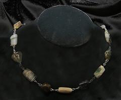 Gemstone Necklace (jscott7357) Tags: rock necklace watch earring jewelry earthy bracelet mineral pendant jewellry gemstone juliery julierybyjulie