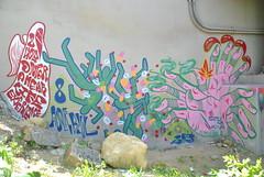 Psychonaut (Adder Blue) Tags: blue streetart minnesota painting graffiti mural minneapolis lsd drugs piece psychonaut adder hallucinate fearandloathing 2013 adderbernhardt adderblue