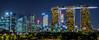 Marina Bay Sands at night (Tatyana Kildisheva) Tags: park longexposure garden singapore asia tropics отдых marinabay отпуск gardensbythebay marinabaysands азия сингапур dsc3876 тропики юговосточнаяазия