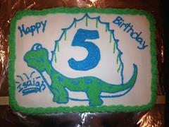 Dinosaur Cake, Triad Area, NC, www.birthdaycakes4free.com