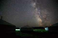 Milky Way seen from Mongolia, Summer 2013
