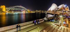 Sydney Opera House at Circular Quay (Jeffery Goh) Tags: cityscape nightscape sydney australia circularquay operahouse harbourbridge