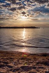 Lake Erie Sunset (Sassenach5) Tags: statepark sunset lake water lakeerie pennsylvania greatlakes erie isle presque canonef2035mmf28l
