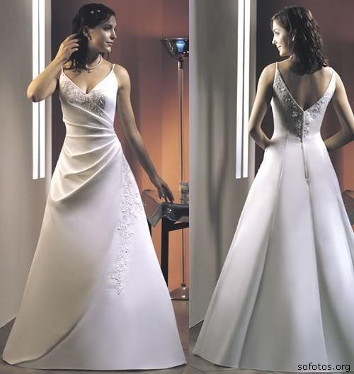 Vestido de noiva maravilhoso