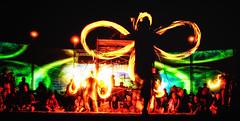 Infinity (BlackRockBacon) Tags: party lightpainting art night dark fire pentax 28mm performance playa cargo burningman blackrockcity adobe brc cult nik dust vivitar k5 lightroom cargocult 2013 colorefex