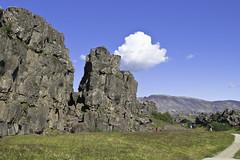 (geh2012) Tags: cloud iceland thingvellir þingvellir ísland ský klettar geh gunnareiríkur